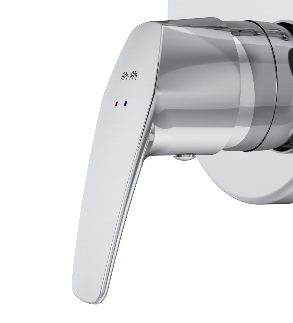 F9085000 Single-lever bath and shower mixer for concealed installation