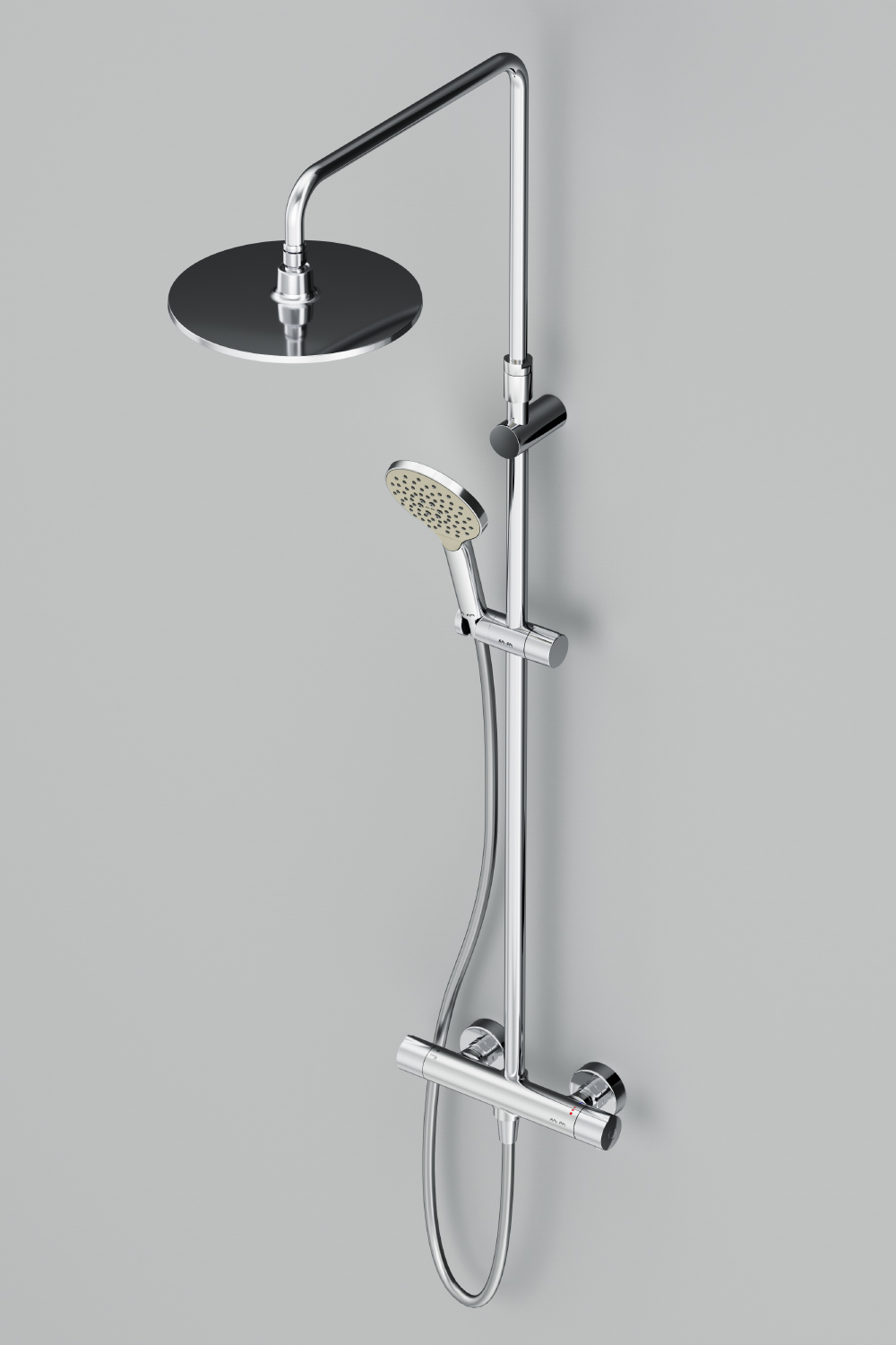 F0780400 ShowerSpot with thermostatic mixer