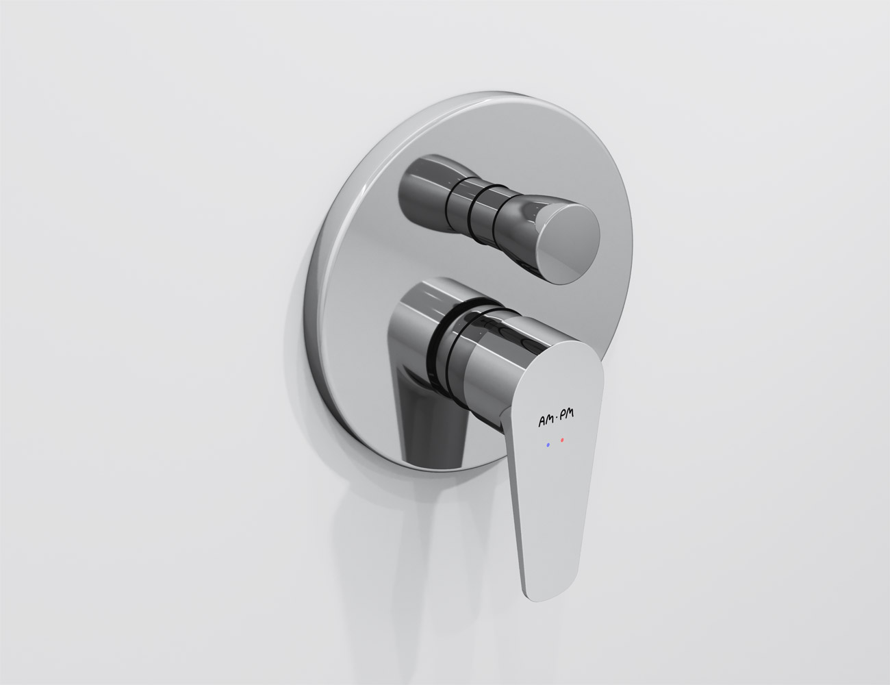 F5085000 Single-lever bath and shower mixer for concealed installation