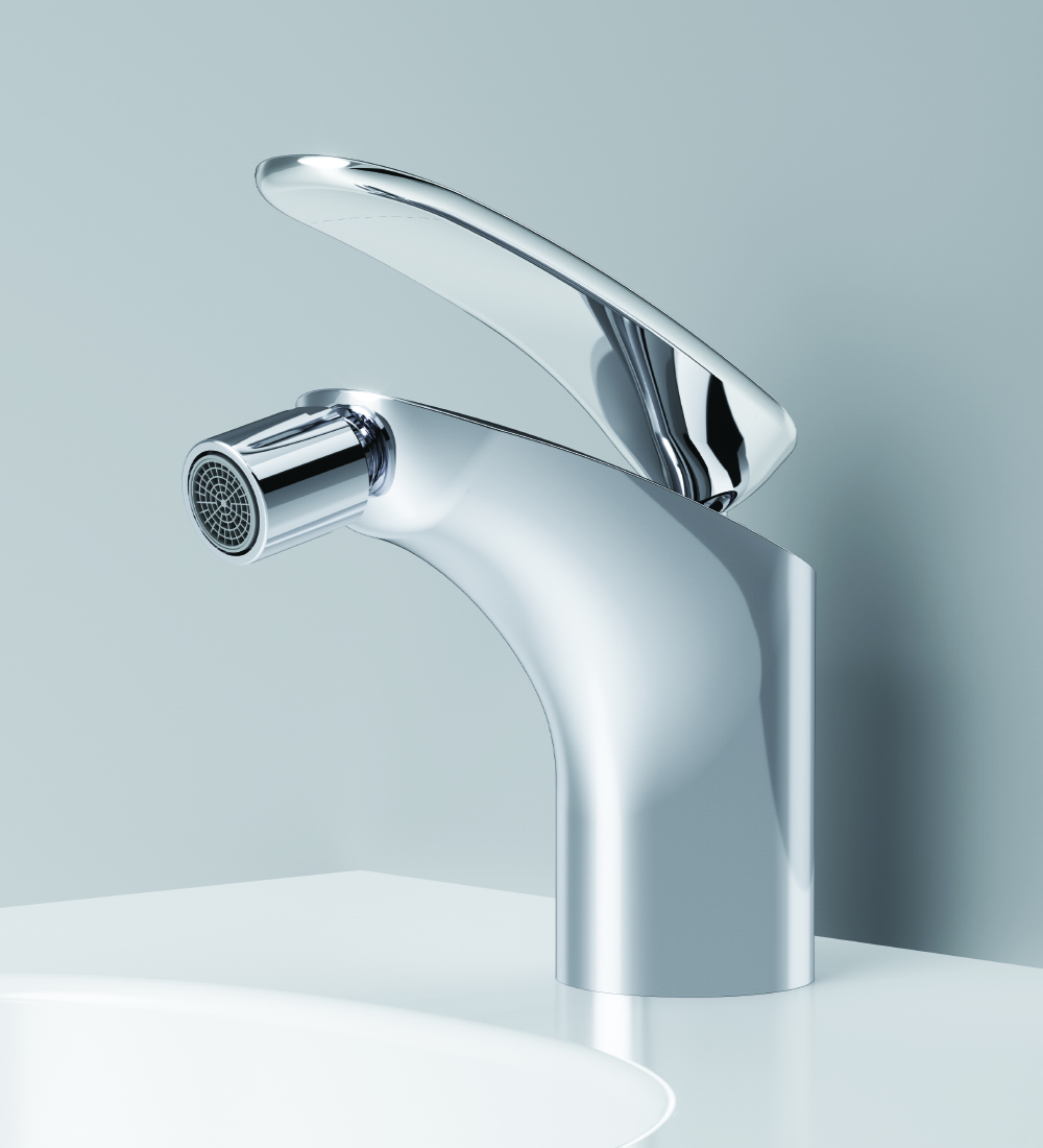 F3083164 Single-lever bidet mixer with waste set