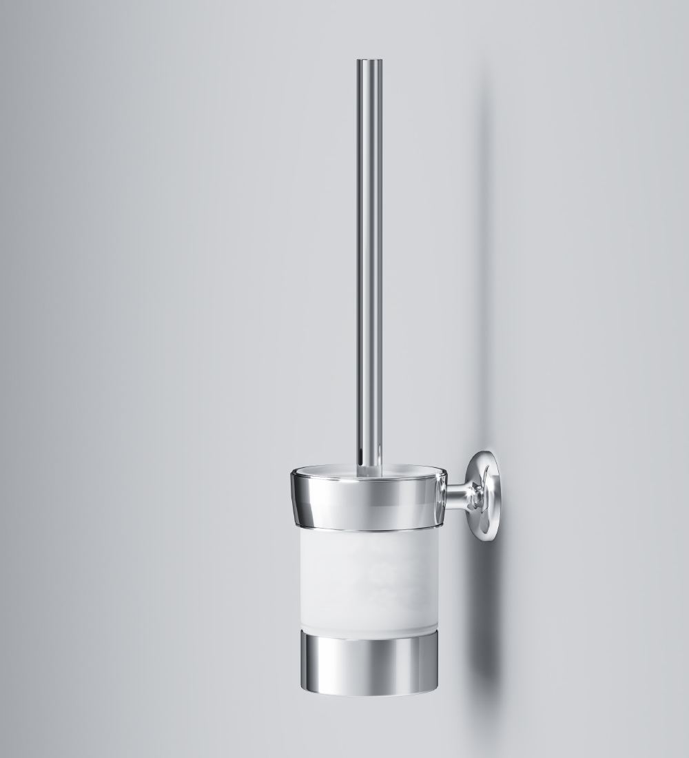 A8033400 Toilet brush with holder, universal