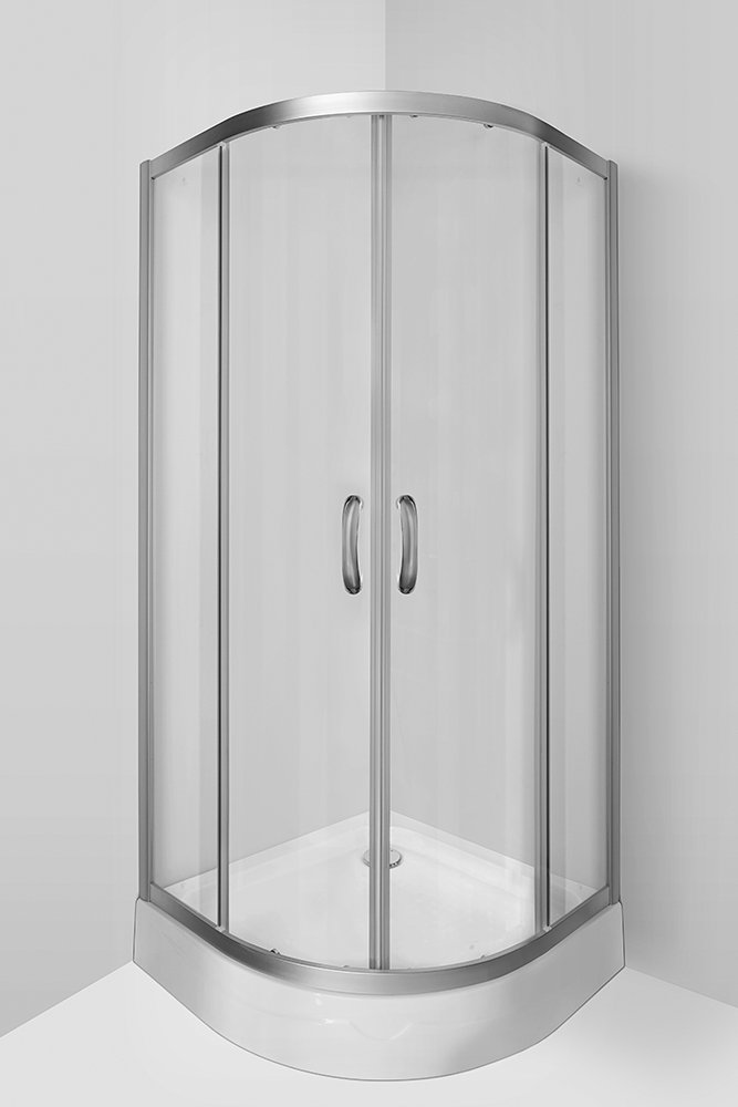 W53G-301-090MT Shower enclosure Twin Slide 90 sliding doors
