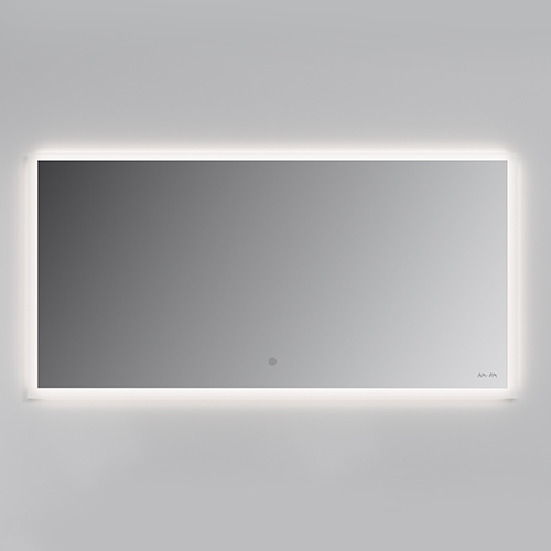 Mirror cabinet with lighting, 120 cm