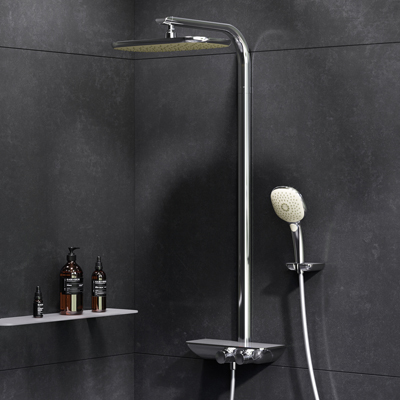 ShowerSpot with thermostatic shower mixer