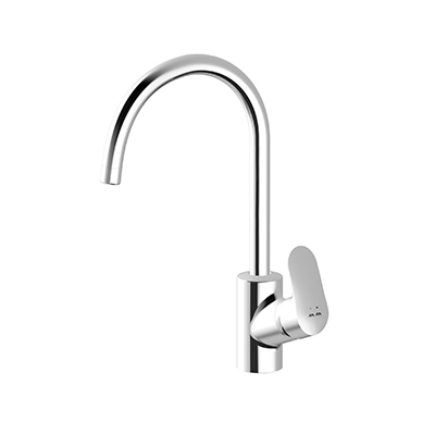 Single-lever kitchen mixer