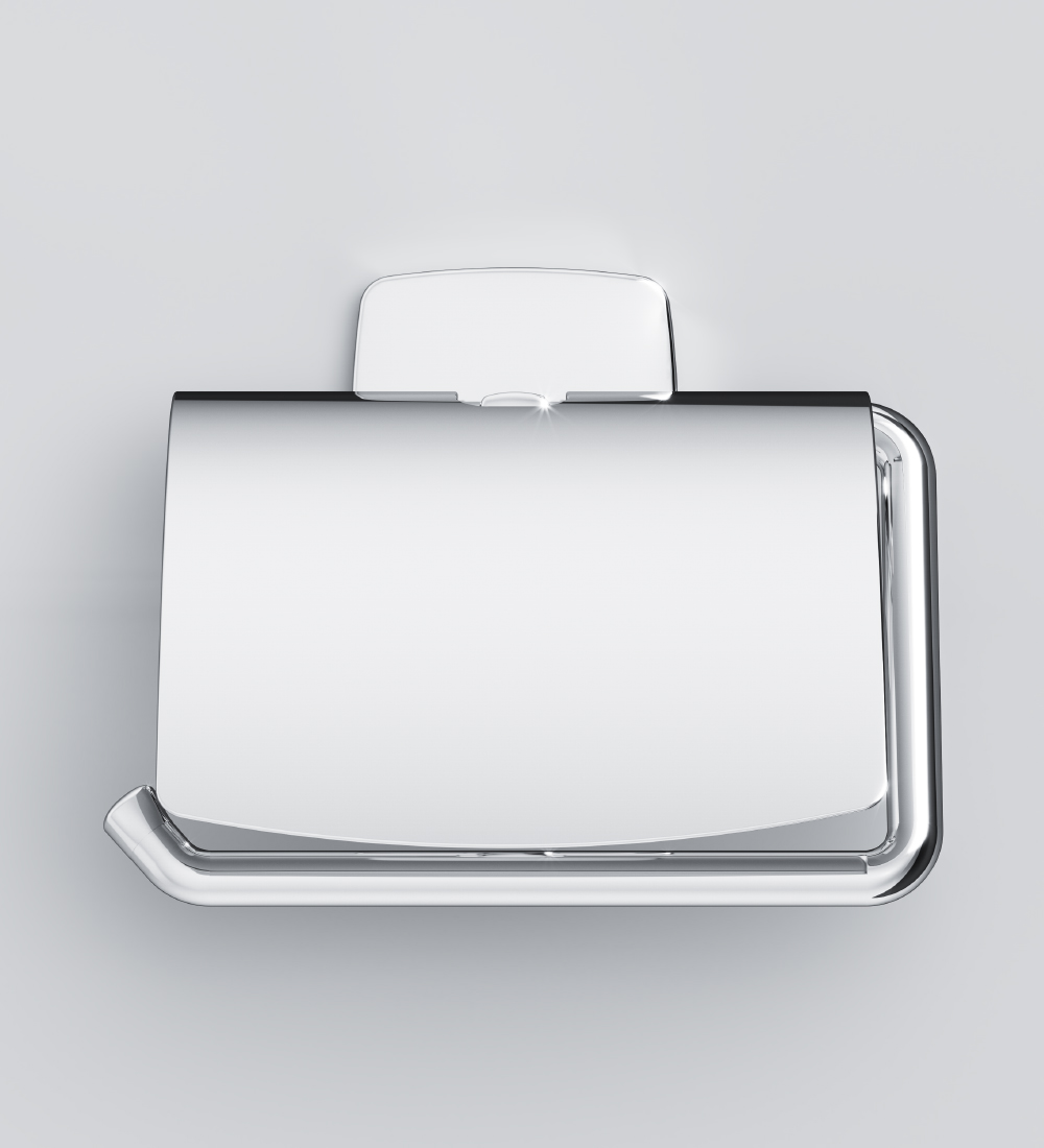 A90341400 Toilet roll holder with lid