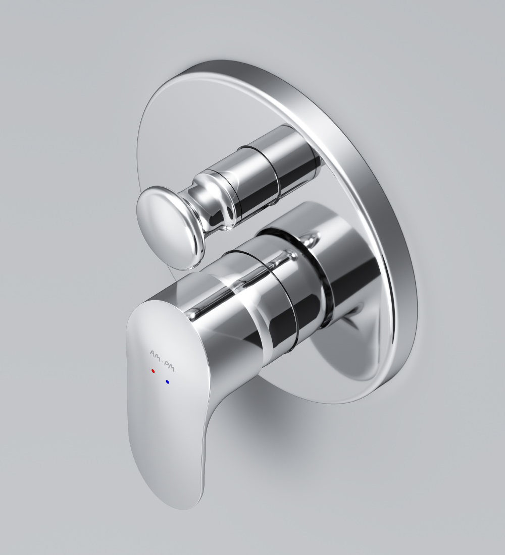F8085000 Single-lever bath and shower mixer for concealed installation