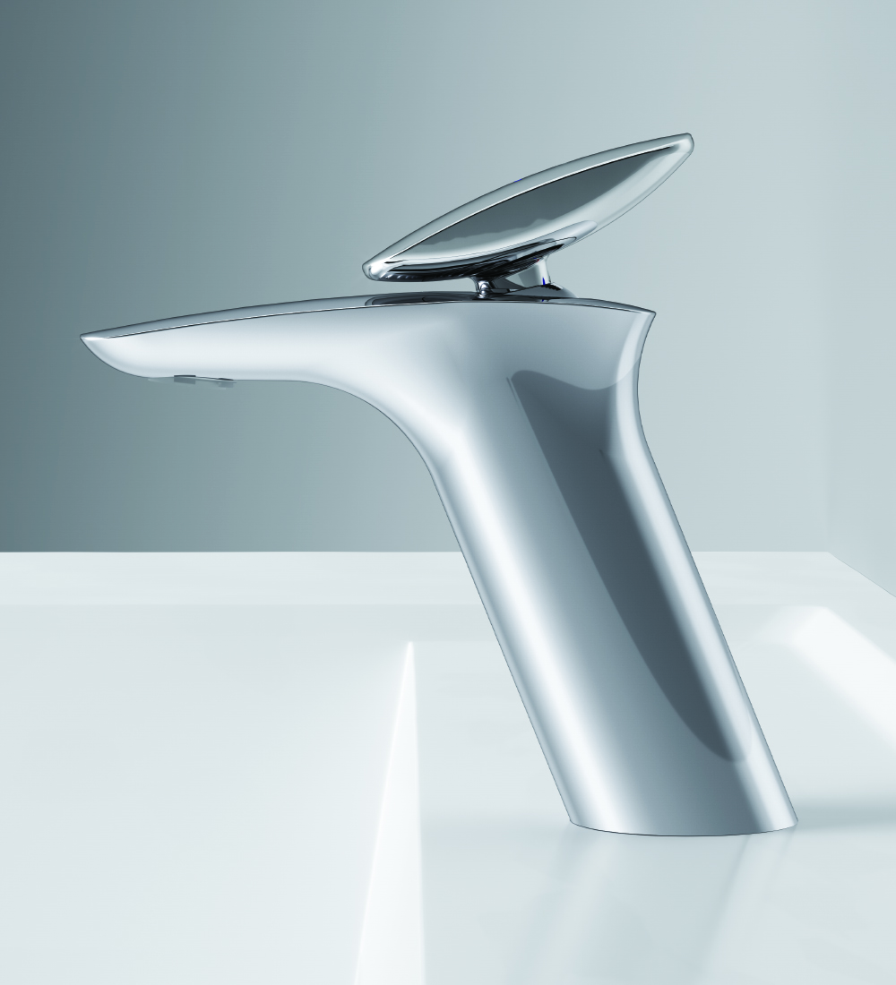 F70A82100 Single-lever basin mixer with waste set
