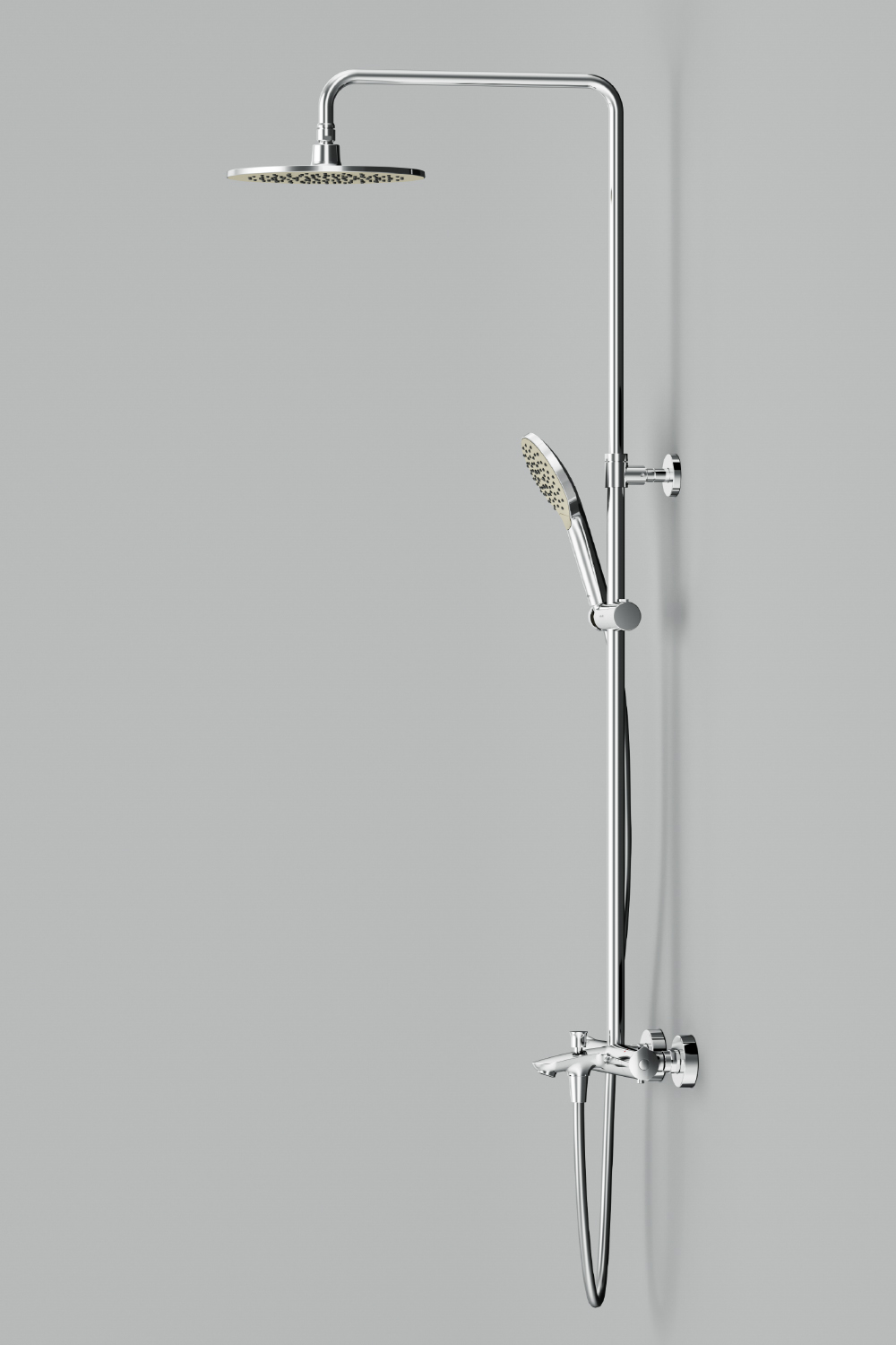 F0780500 ShowerSpot with thermostatic mixer and bath spout