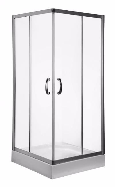 Shower enclosure Square Slide 90 sliding doors