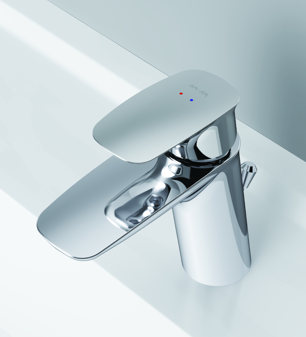F71A82100 Single-lever basin mixer with waste set