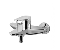 Single-lever bath and shower mixer