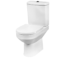 Close-coupled WC suite, universal outlet