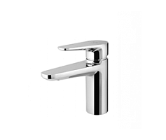 Single-lever basin mixer