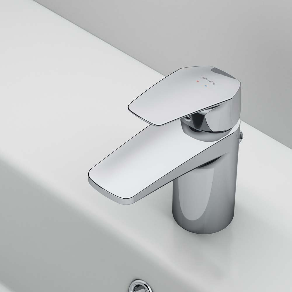 F9092100 Single-lever basin mixer with waste set