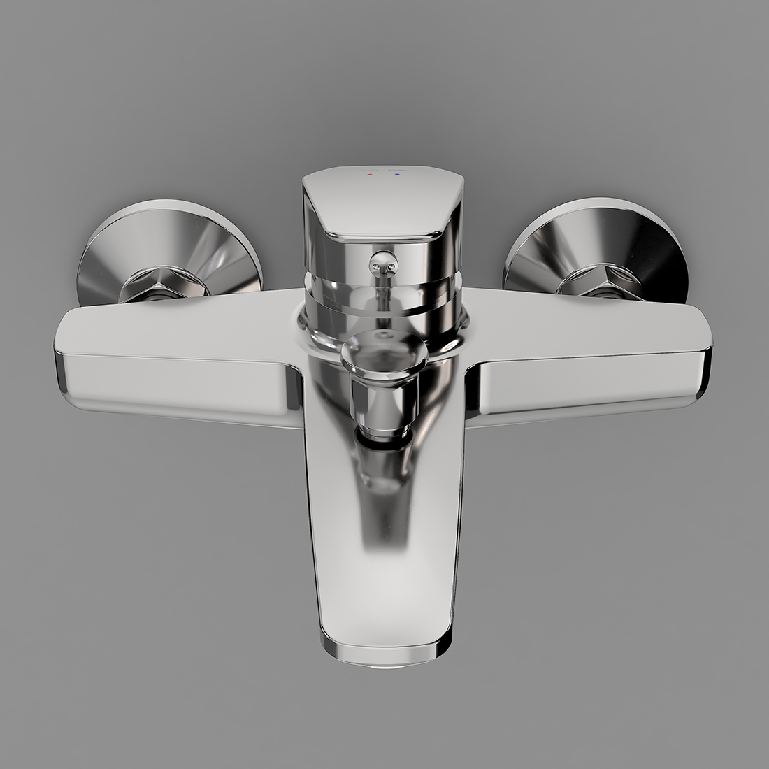 F9010000 Single-lever bath and shower mixer