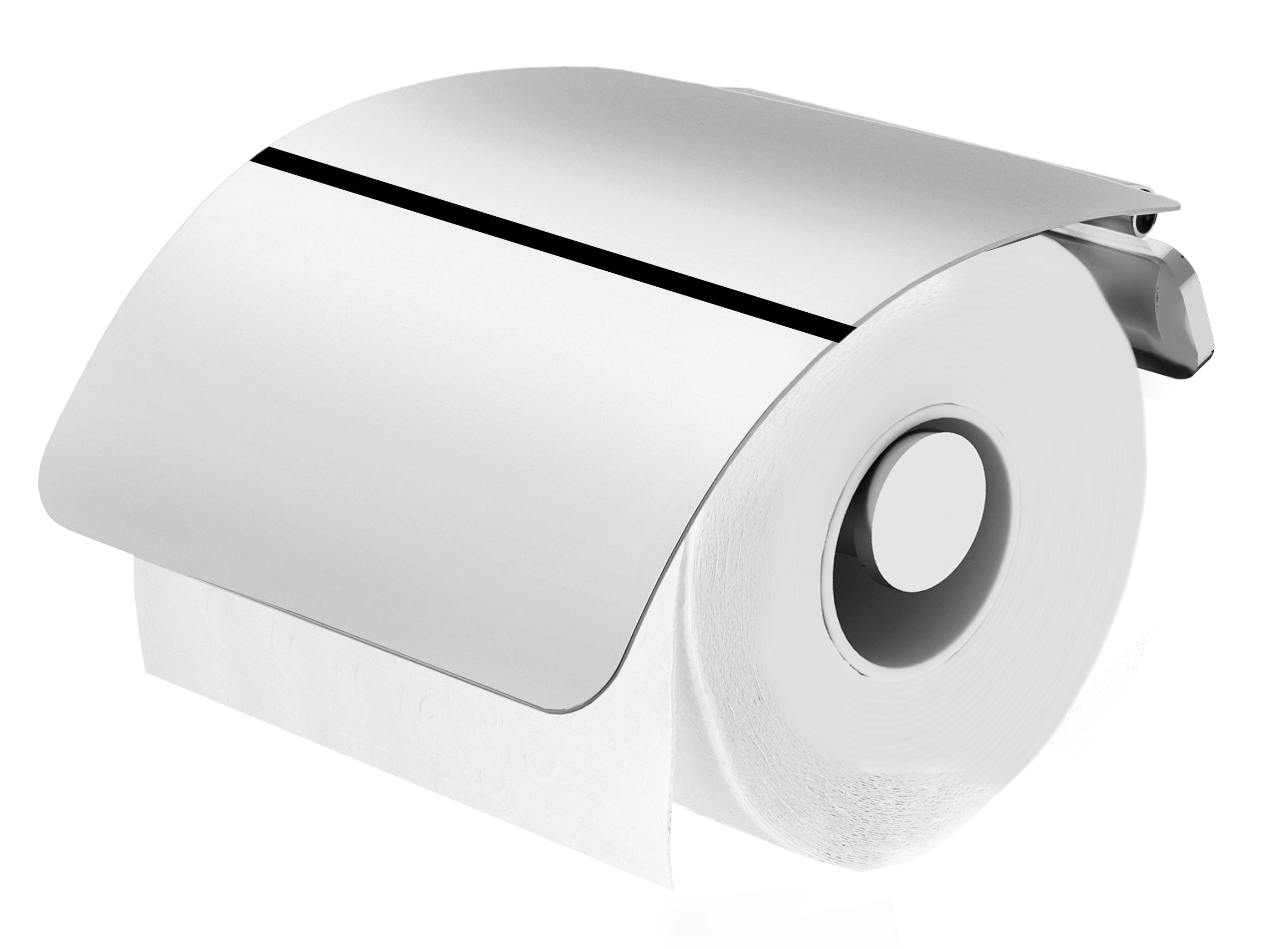 A50341400 Toilet roll holder with Lid