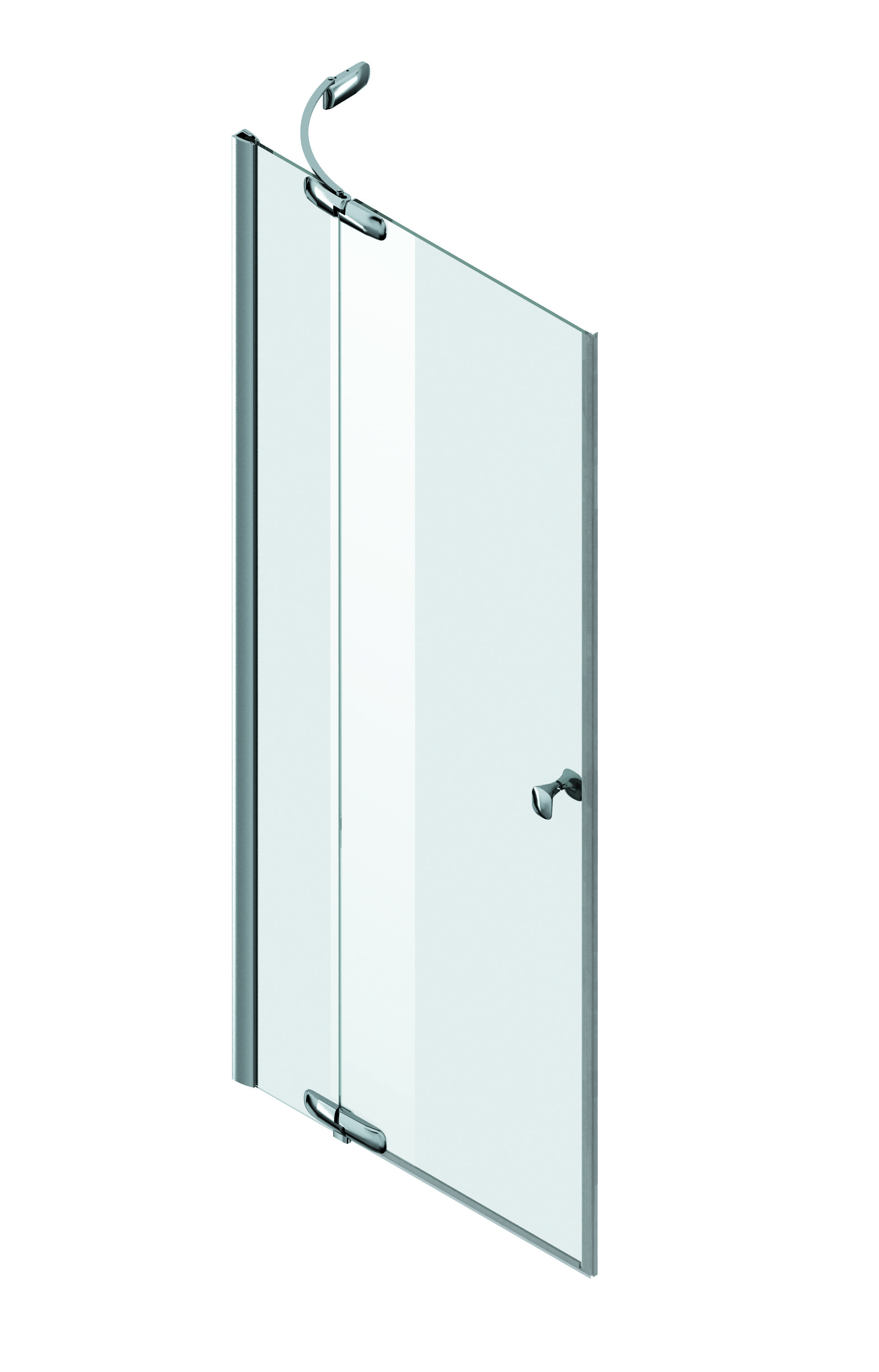 W30G-E3D6-200-CT L/R Pivot door with fixed segment