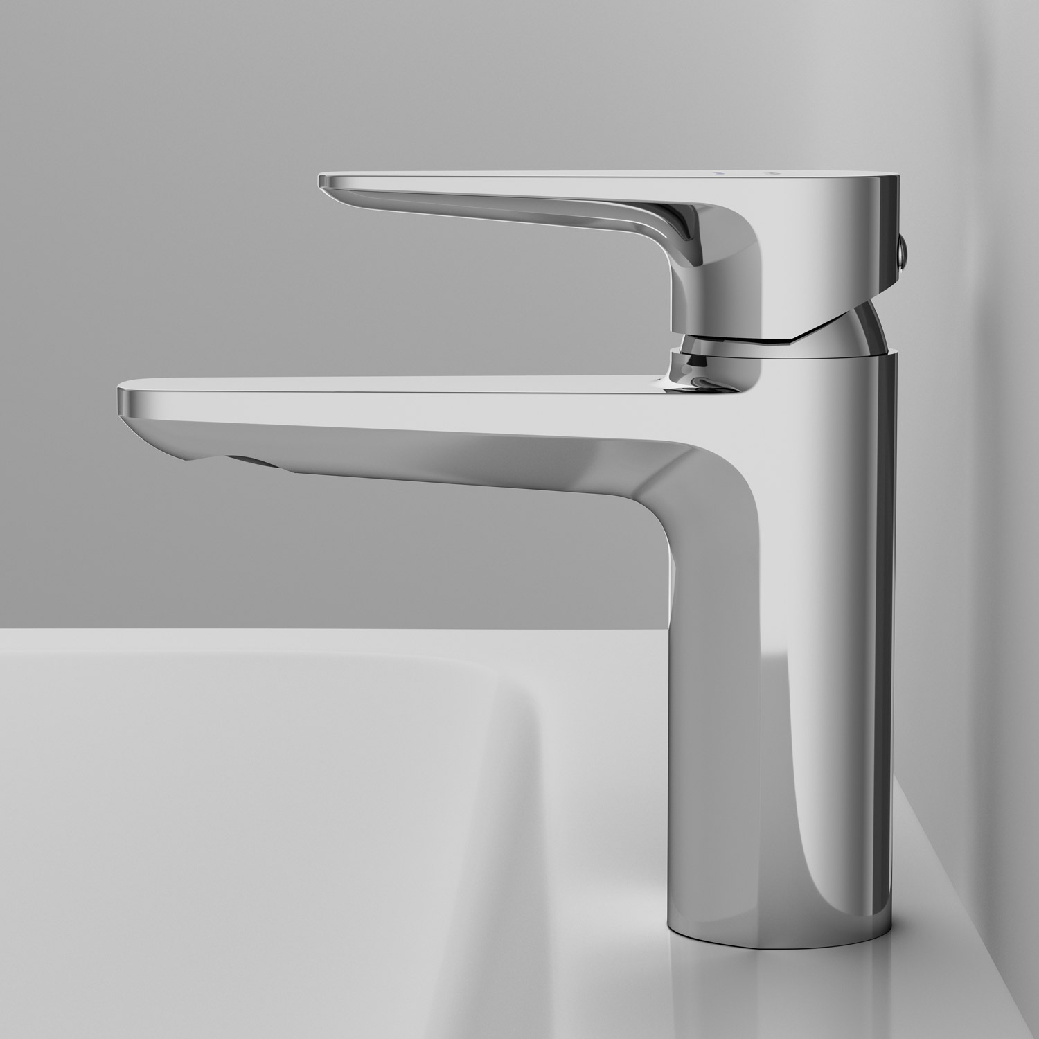 F5082100 Single-lever basin mixer with waste set