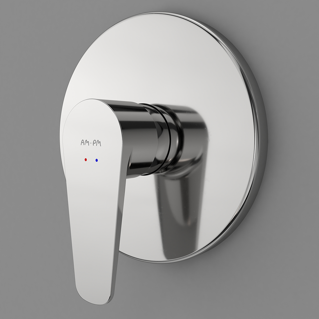 F5075000 Single-lever shower mixer for concealed installation