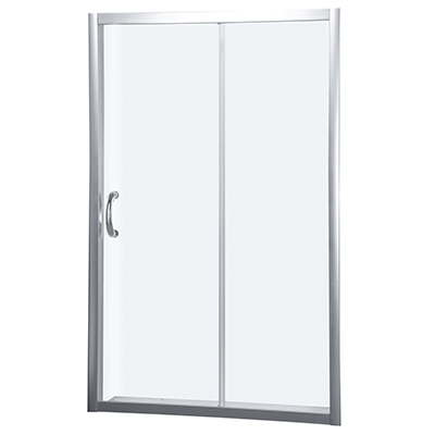 Sliding doors for niche